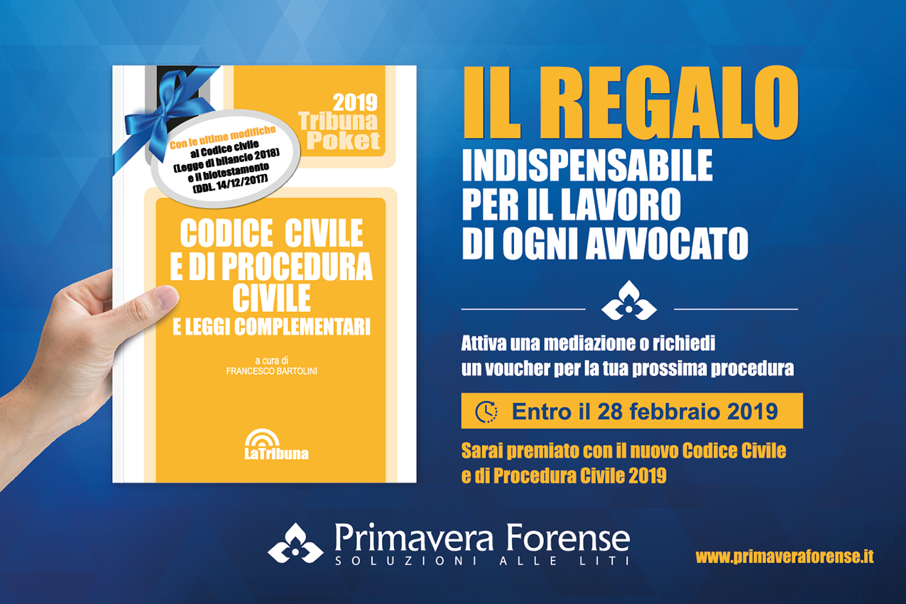 Codice Civile e di Procedura Civile 2019