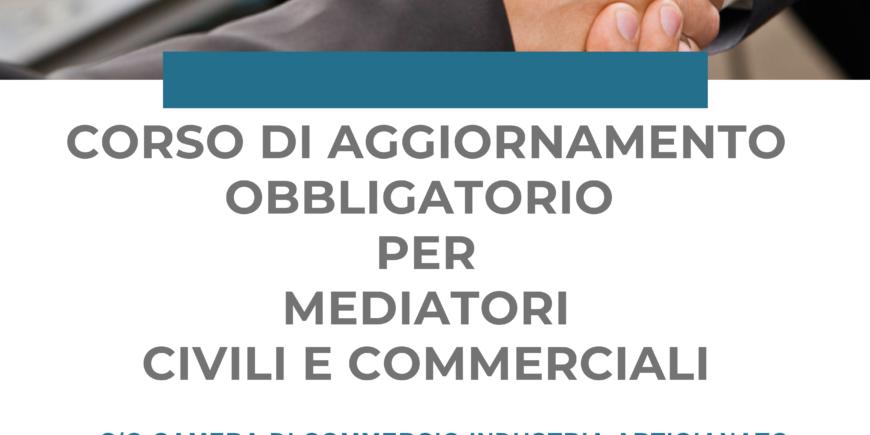 Corso di aggiornamento per Mediatori Civili e Commerciali  (D.M., n. 180/2010)- MATERA